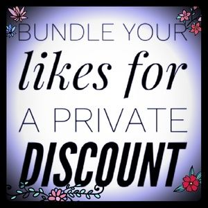 Other - 🤩😍🌺BUNDLE YOUR LIKES FOR A PRIVATE DISCOUNT 🤗